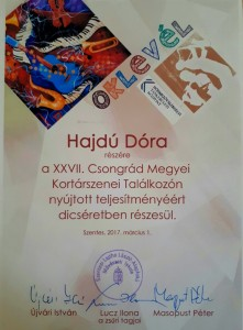 Hajdu Dóra Szentes